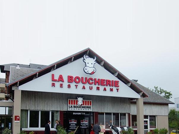 Restaurant La Table Pierrade® / La Boucherie GAP