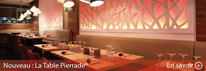 Nouveau La Table Pierrade®